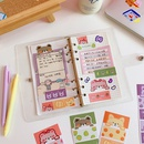 cartoon cute gummy bear label sealing girls hand account sticker material small pattern NHZE267037
