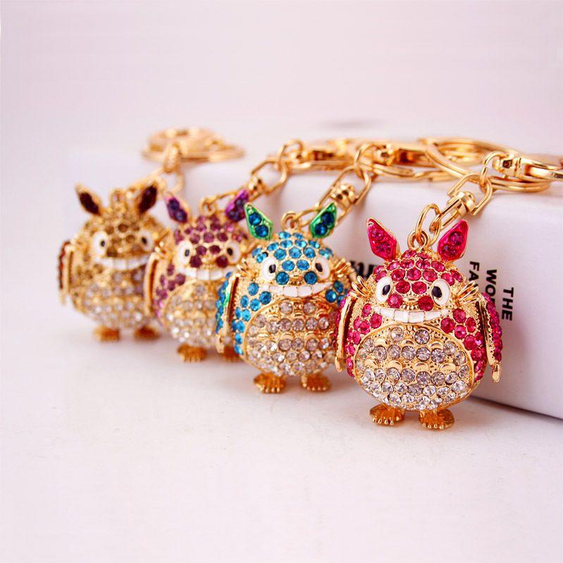 Korean cartoon anime kitten key chain  NHAK267063