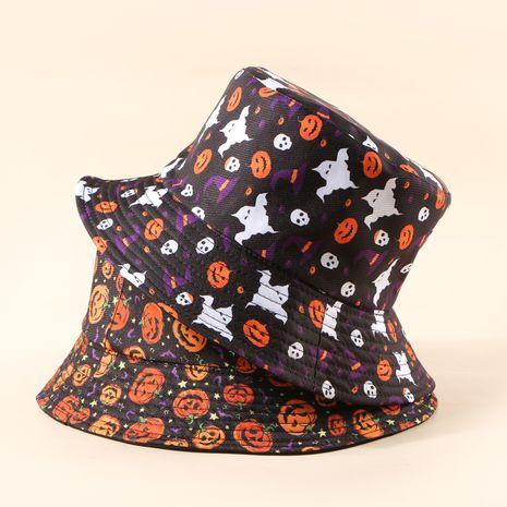 Nouveau chapeau de pot occasionnel de mode coréenne de crème solaire d'Halloween NHTQ267117's discount tags