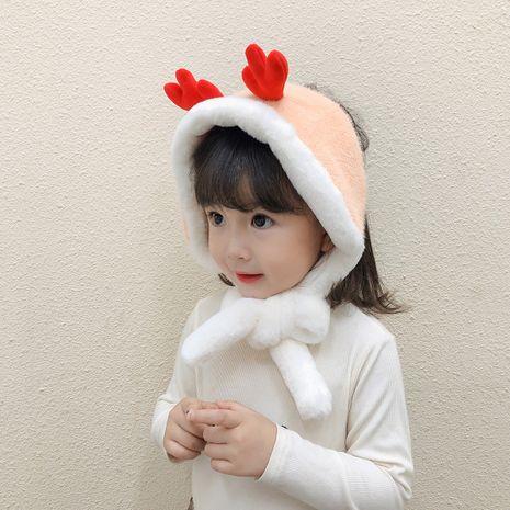 new corn kernel earmuffs treasure warm antlers Korean cute windproof rabbit ear scarf NHTQ267146's discount tags