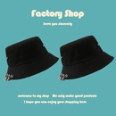 Korean fashion wild big ring big rivet fisherman hat  NHTQ267150