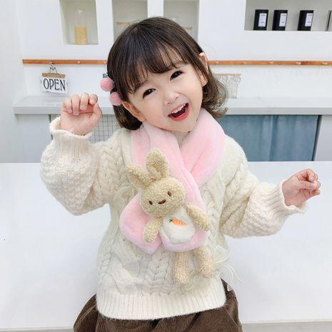 Adorable écharpe de poupée carotte lapin ours pour enfants NHTQ267168's discount tags
