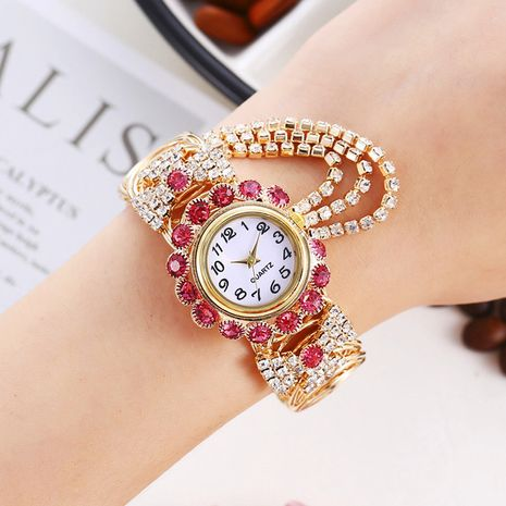 nuevo reloj de pulsera de cuarzo digital de diamantes de lujo de moda de moda NHHK267226's discount tags