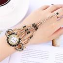 new  luxury ladies full diamond claw chain  watch  NHHK267227