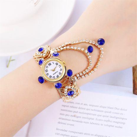 reloj de pulsera de moda reloj de cuarzo de borla de gota de agua de diamante NHHK267230's discount tags