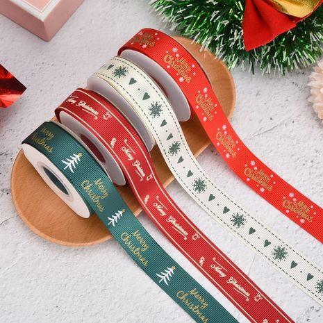 Christmas Ribbon Spot 1cm Small Roll  Ribbon Gift Wrapping Ribbon NHDN267261's discount tags