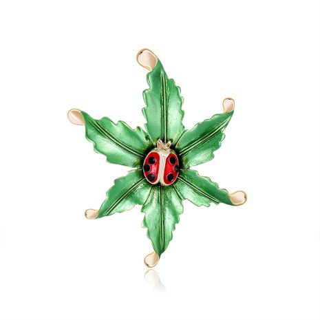 new fashion  seven-star ladybug drop oil brooch  NHDR267266's discount tags