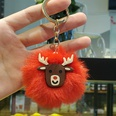 NHDI1170291-Christmas-deer-head-Golden-single-circle