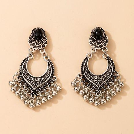 Moda exagerada nuevos pendientes geométricos de borla de campanas pequeñas NHGY267324's discount tags