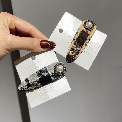 Épingle à cheveux rétro perle coréenne NHWF280583's discount tags
