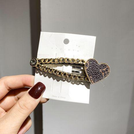 fashion love diamond  hairpin NHWF280582's discount tags