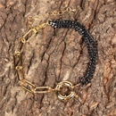 New creative asymmetrical chain bracelet  NHPY280884