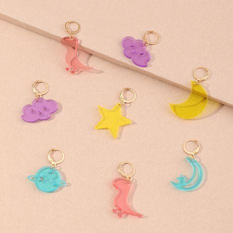 boucles d'oreilles dinosaures étoiles pour enfants NHNU280917's discount tags