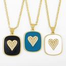 vente chaude amour cratif dgoulinant collier pendentif gomtrique NHAS280941