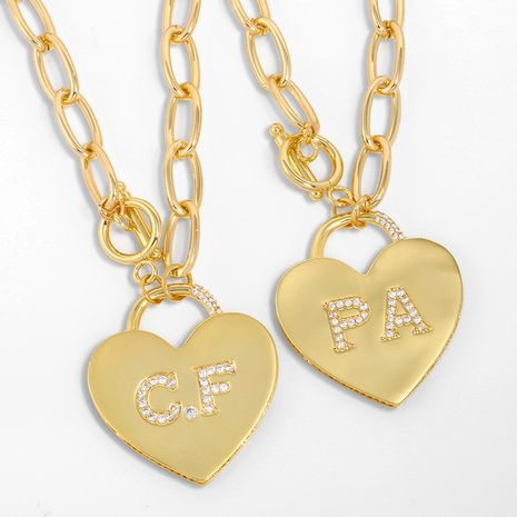 fashion  love pendant necklace  NHAS280954's discount tags