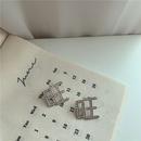 Korean  flashing diamonds  earrings NHYQ281037