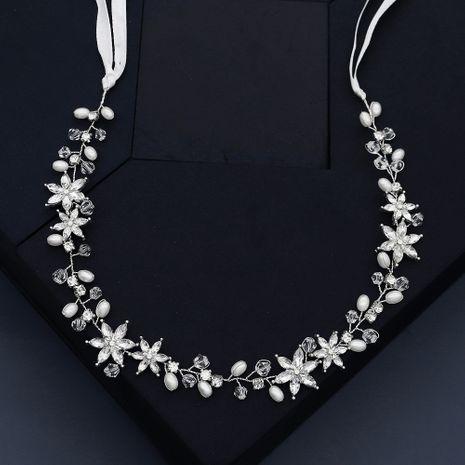 bandeau en cristal perlé fait main étoile NHHS281060's discount tags