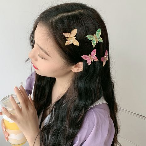 colorful butterfly hair clip  NHDM281142's discount tags