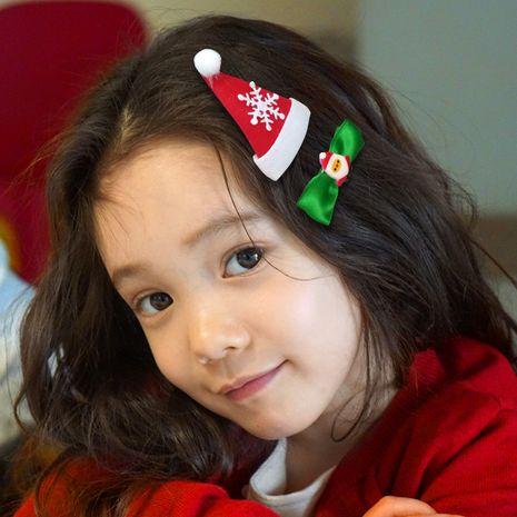 Christmas cute antler hairpin set NHDM281144's discount tags