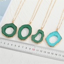 new exaggerated personality irregular hollow resin necklace  NHGO281151