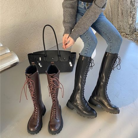 thick-soled long boots  NHCA281534's discount tags