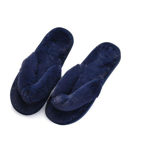 nuevas chanclas de felpa de felpa zapatillas casuales de algodón NHPE281549's discount tags