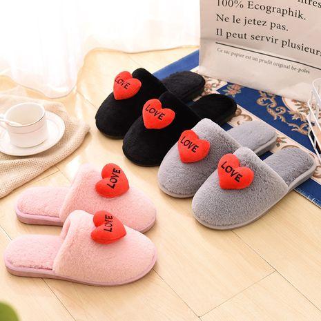 Zapatillas de casa creativas de invierno nuevo coreano NHPE281554's discount tags