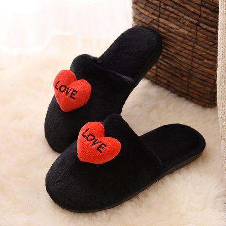 nuevas zapatillas antideslizantes de felpa con fondo suave NHPE281558's discount tags