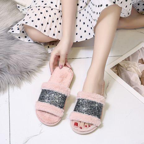 felpa moda damas casa zapatillas abiertas NHPE281559's discount tags