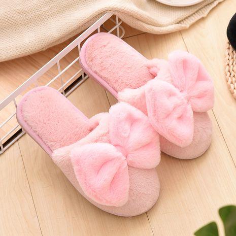 Zapatillas de felpa de algodón de invierno coreano NHPE281584's discount tags