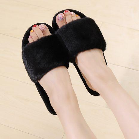 nuevas zapatillas de felpa de algodón de moda NHPE281587's discount tags