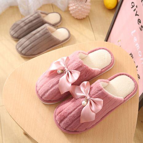 nuevas zapatillas de piel de conejo de algodón de moda NHPE281588's discount tags