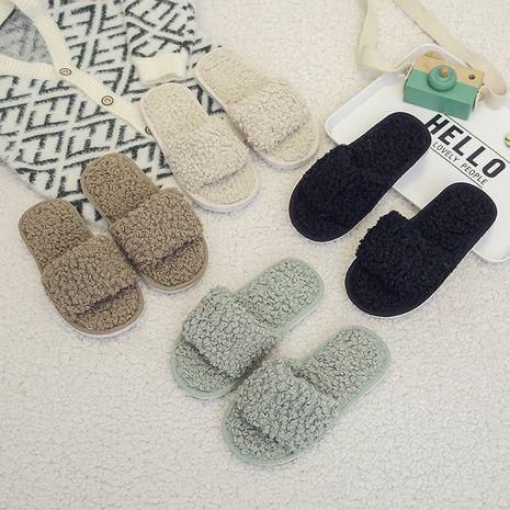 nuevas zapatillas de niños con apertura de lana de cordero NHPE281590's discount tags