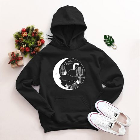 winter moon starry hooded sweater NHSN281624's discount tags