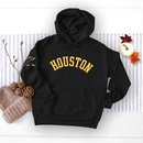 autumn and winter popular letter printed hooded sweater NHSN281627