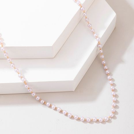 hot-selling  simple simple pearl necklace NHGY281715's discount tags