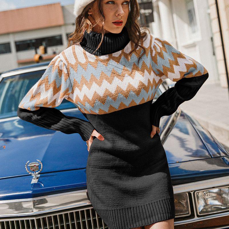 New fashion warm dress NHDE281695