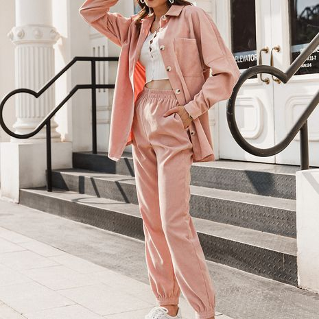 fashion new pink suit NHDE281700's discount tags