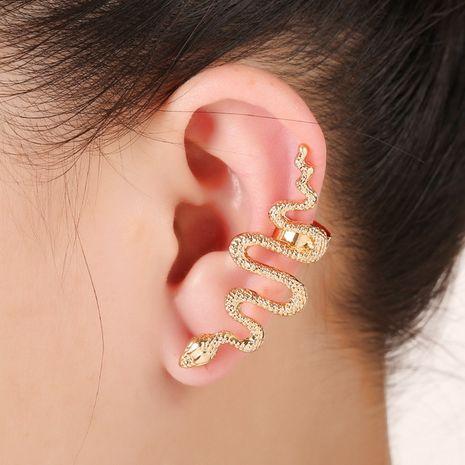 boucles d'oreilles en forme de serpent exagérées NHYE281794's discount tags