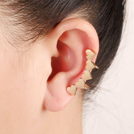 clip d'oreille simple en forme de U en forme de cœur NHYE281800's discount tags