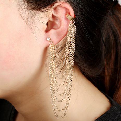 alloy tassel ear clip NHYE281805's discount tags
