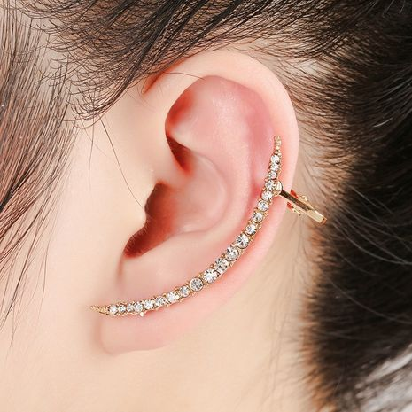 Fashion simulation diamond earrings  NHYE281806's discount tags