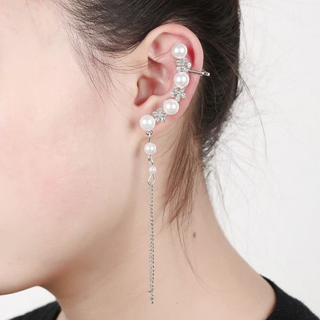 Perle Schneeflocke Quaste Ohr Knochenclip NHYE281807's discount tags