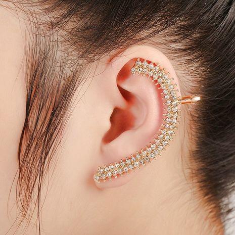 clip d'oreille de diamant de mode de cristal NHYE281815's discount tags