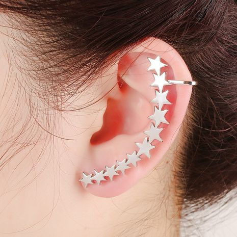 fashion punk stars creative ear bone clip  NHYE281820's discount tags