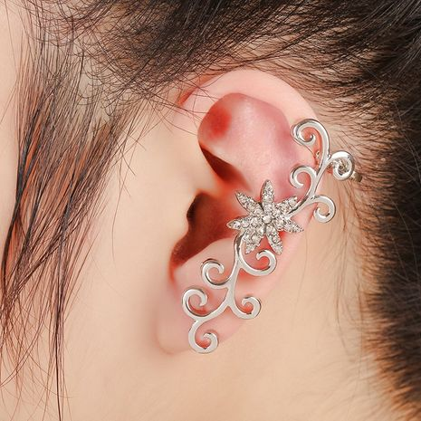flower shaped ear bone clip NHYE281824's discount tags