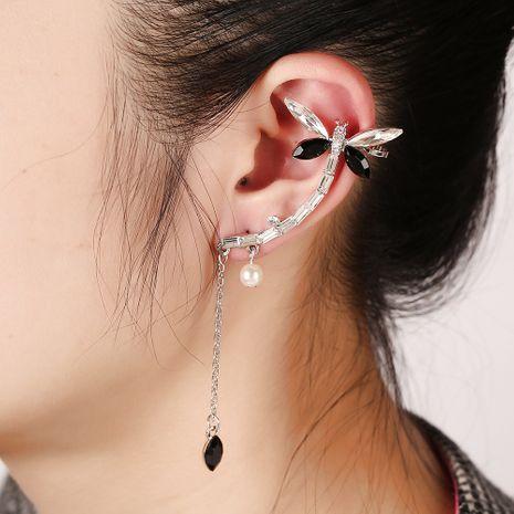 Schmetterlingskristall Diamant Quaste Ohrringe NHYE281829's discount tags