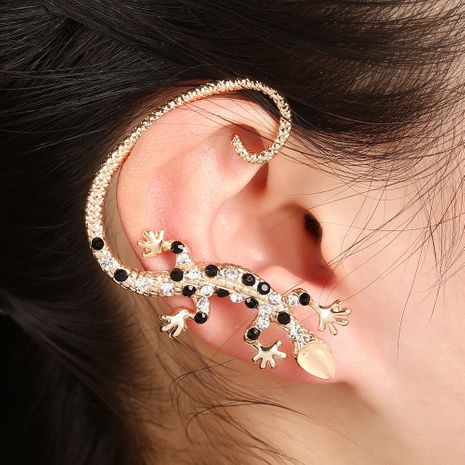 clip d'oreille lézard gecko diamant cristal NHYE281838's discount tags