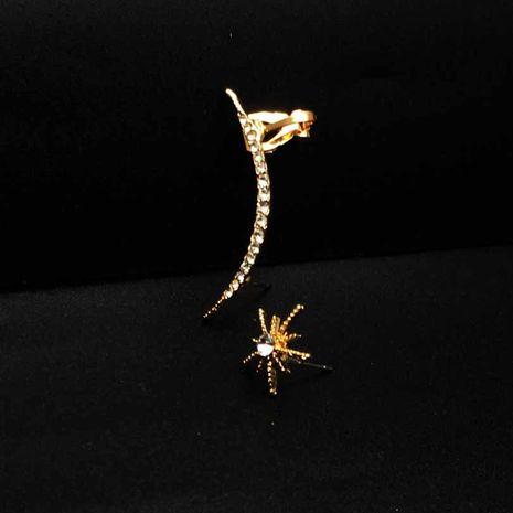 ensemble de 2 clips d'oreille en cristal de diamant NHYE281848's discount tags