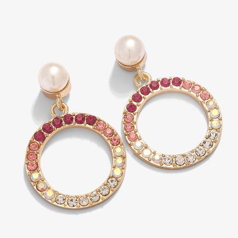 circle fashion exaggerated long earrings  NHJQ281899's discount tags